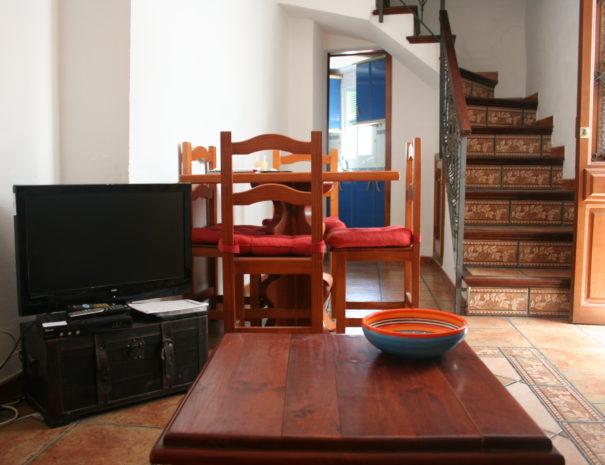Woonkamer Casa Sonrisa Guaro