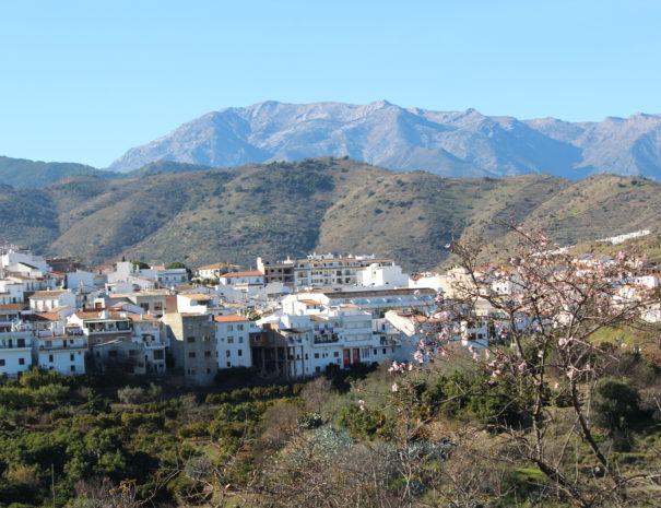 Uitzicht op Guaro - Andalusië