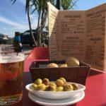 Tapas en menu del dia in Spanje