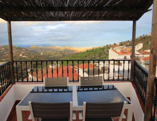 Dakterras Casa Sonrisa met uitzicht