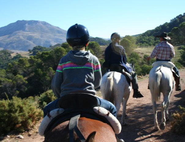 Paardrijden in El Burgo - Sierra de las Nieves