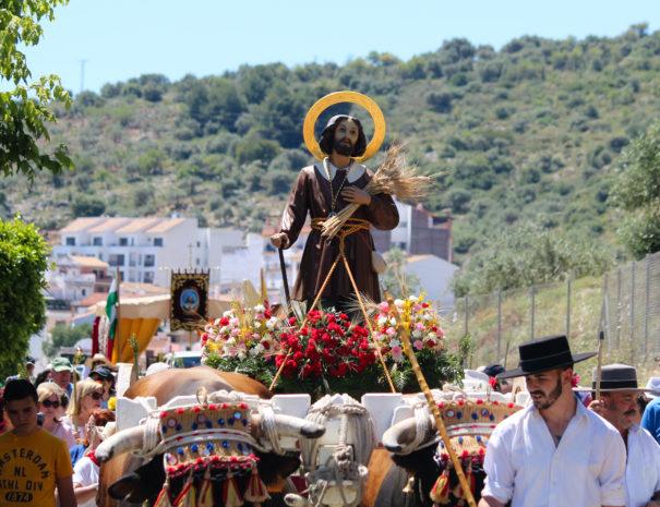 Romeria de San Isidro Guaro