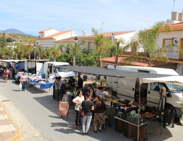 Markt in Guaro