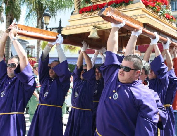 Processie Semana Santa Guaro