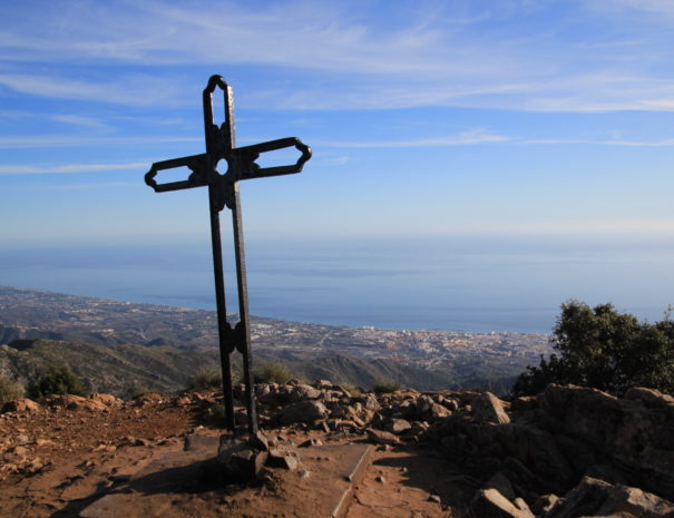 Sierra Blanca - Cruz de Juanar