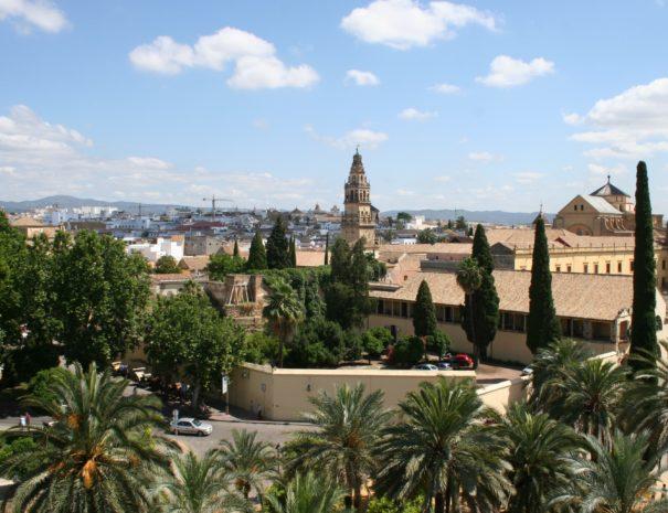 Uitzicht op Córdoba
