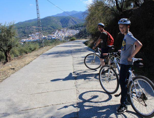 Herfstvakantie fietsen