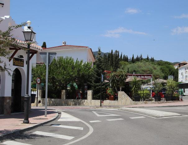 Straatbeeld Yunquera