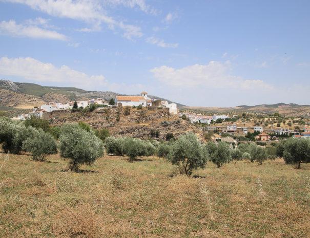 Blik op El Burgo