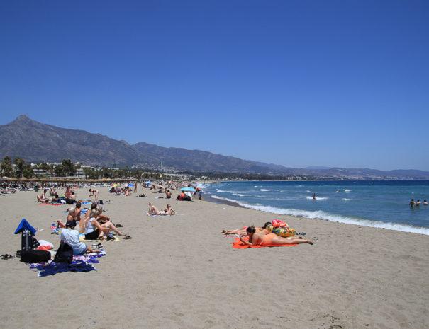 Marbella Puerto Banus strand