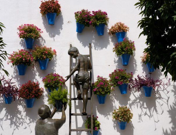 Cordoba witte muur